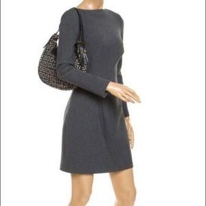 Monogram Tassel Black/Grey Givenchy Canvas hobo